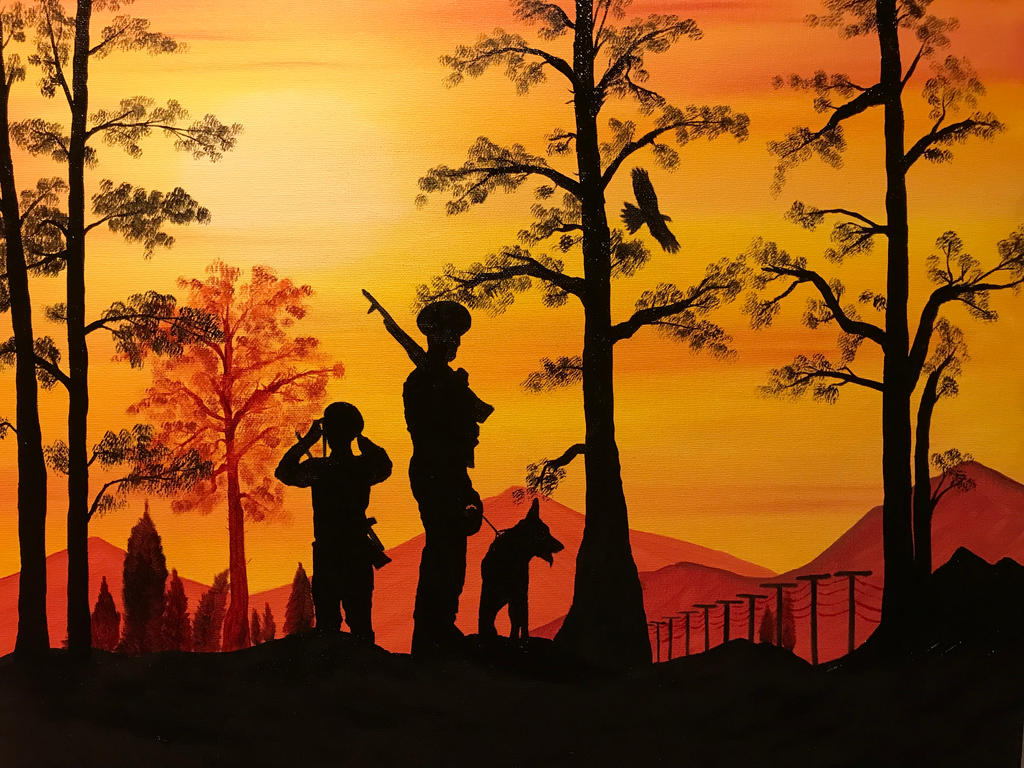 sunset by Davethepioneer