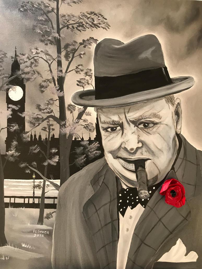Churchill by Davethepioneer