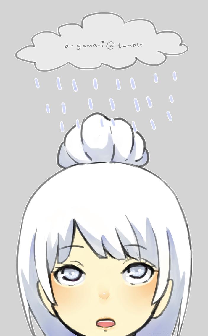 rainy mood by kimchicake