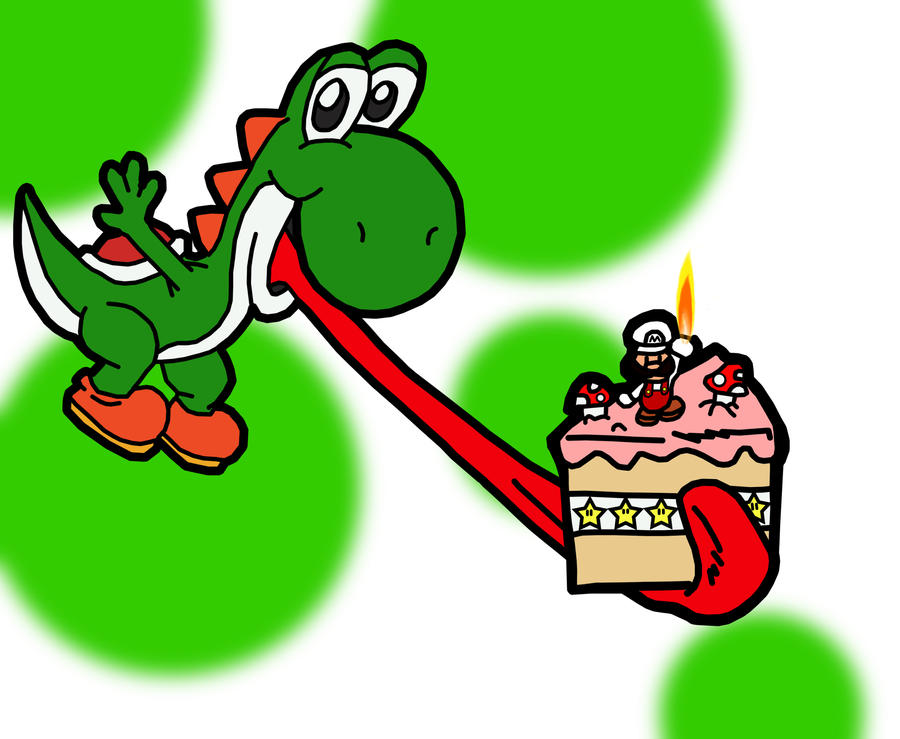 Yoshis cake by blue shadow24 on deviantart yoshis cake by blue shadow24 bookmarktalkfo Image collections