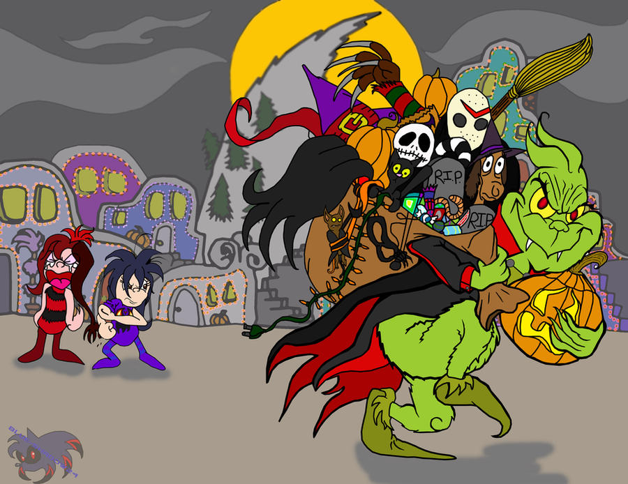 How the Grinch Stole Halloween by blue-shadow24 on DeviantArt