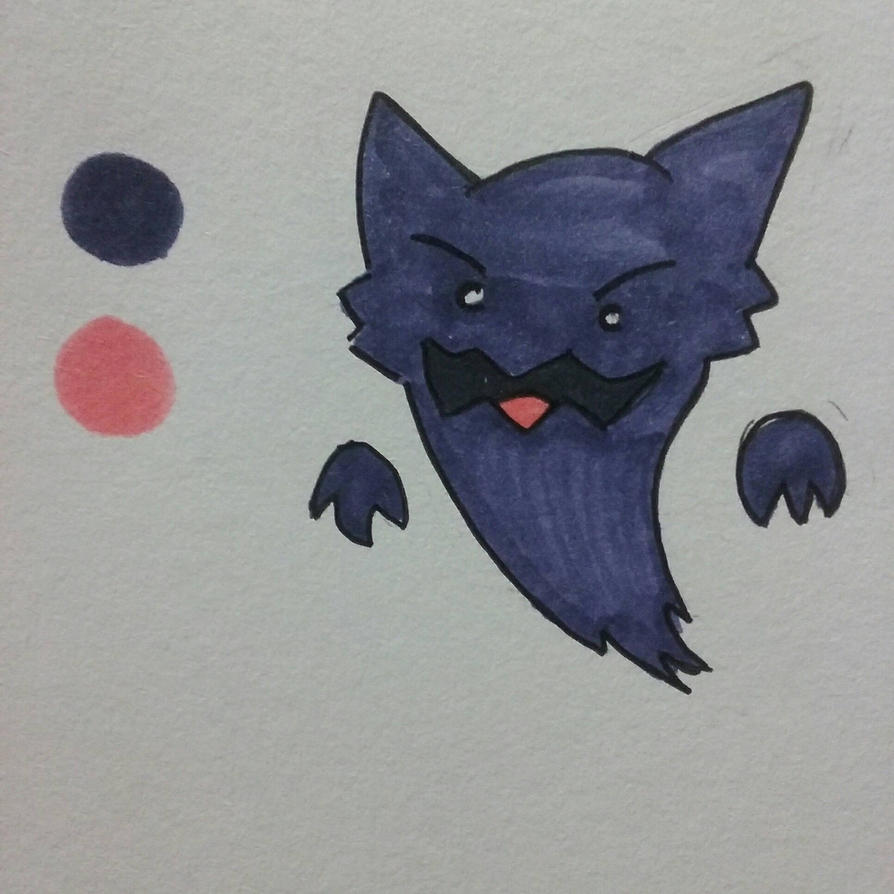 Quick Haunter Drawing  by SpaceChildHere