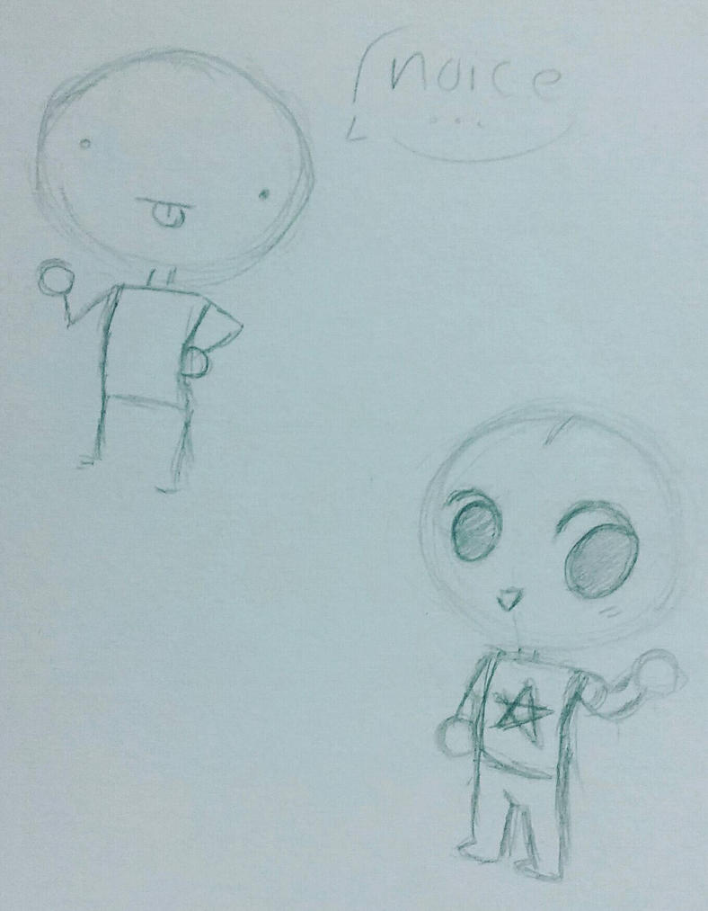 Writing class doodles  by SpaceChildHere