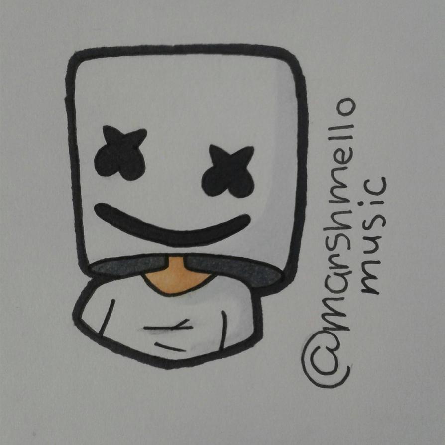 Marshmello by SpaceChildHere