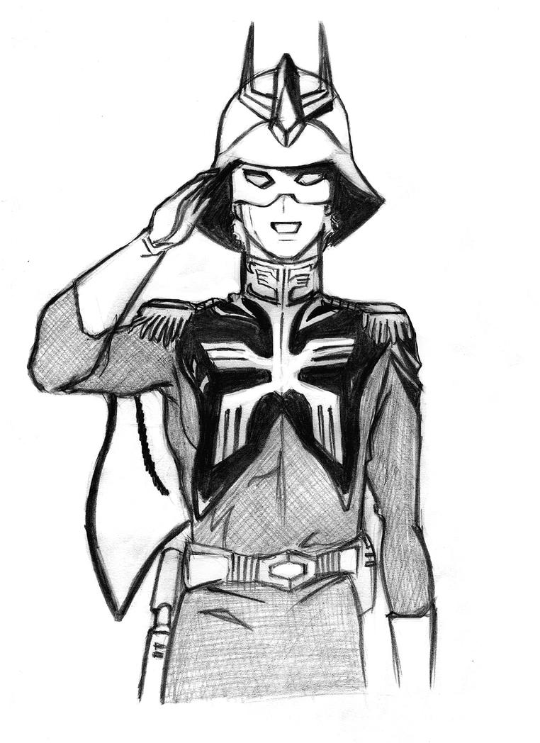 Char Aznable_2 by kameshek