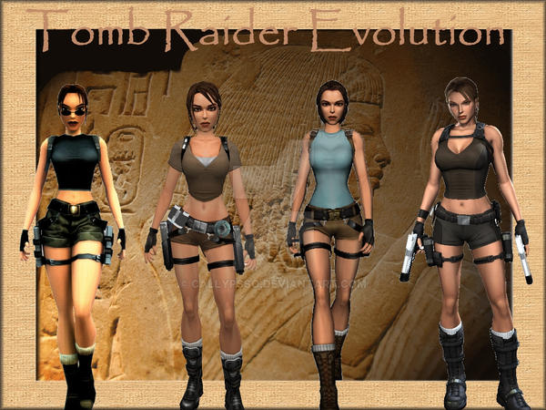 Tomb Raider Evolution by Callypsso