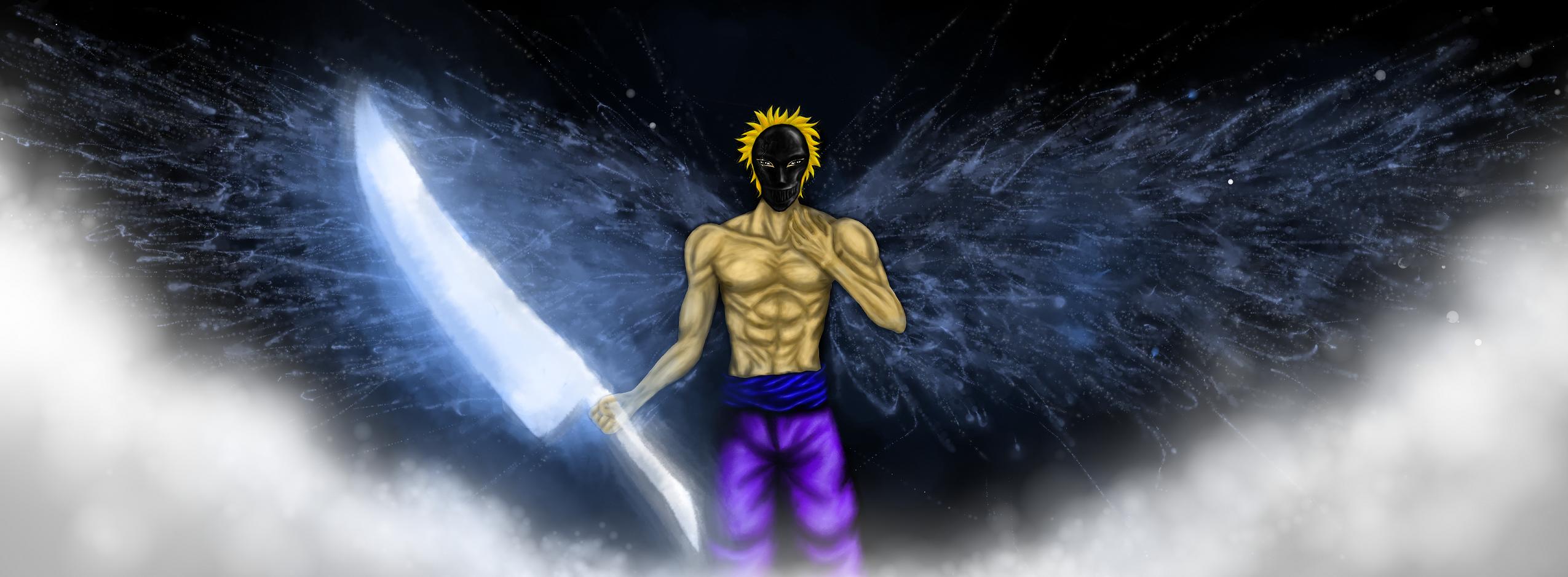 Masked Angel For Zibit by MusicAndArtItsMyLife