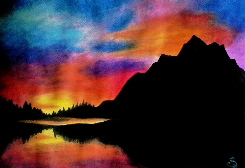 gIFT: Sunset by MusicAndArtItsMyLife