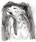 Snow leopard by MusicAndArtItsMyLife