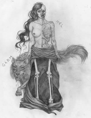Hel and Germ by MusicAndArtItsMyLife