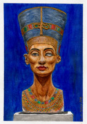 Queen of Egipt - Nefertiti by MusicAndArtItsMyLife