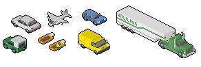 Random Pixels - Vehicles by howling