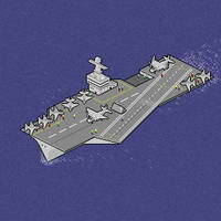 Aircraft Carrier 33 by howling