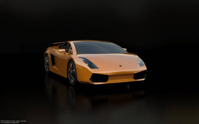 Lamborghini orange by parijatgaur