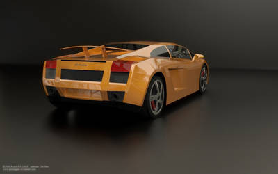 Lamborghini orange 2 by parijatgaur