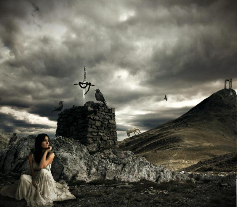 Alone In Peace by JonKoomp