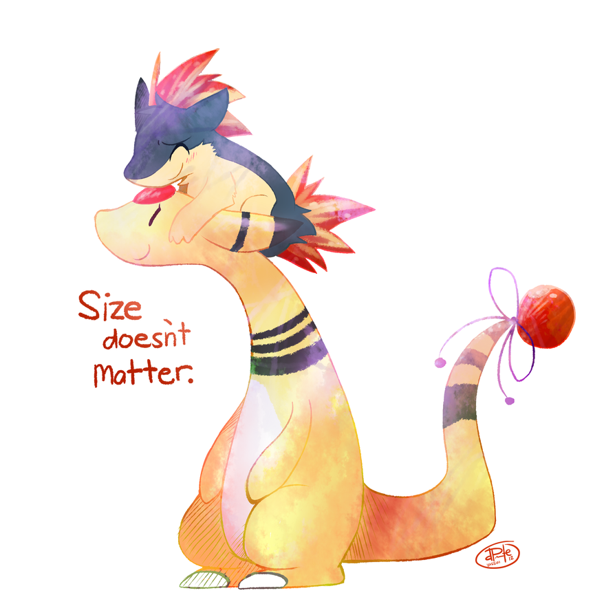 Size doesn't matter by yassui