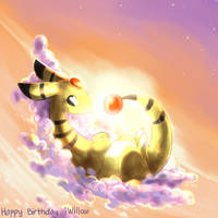 Happy Birthday iWillow by yassui