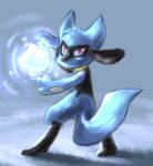 Riolu used Focus Blast