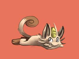 Meowth by yassui