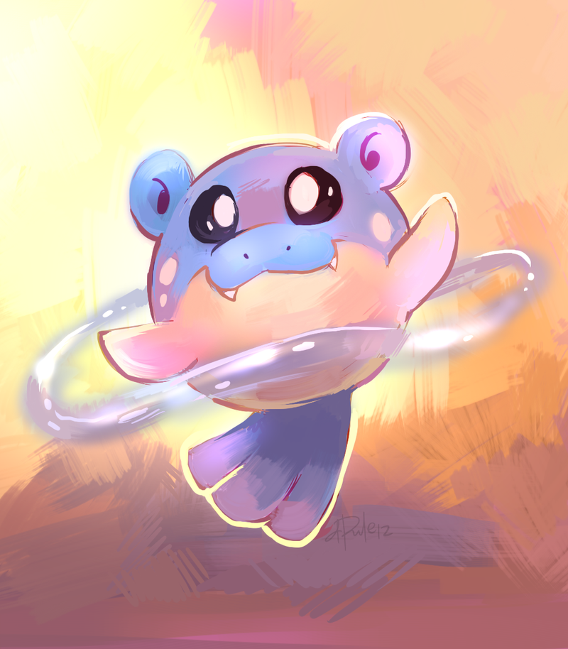 Spheal used Aqua Ring by yassui