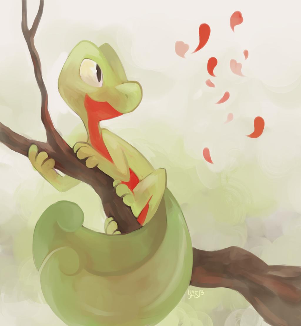 Treecko By Yassui On Deviantart