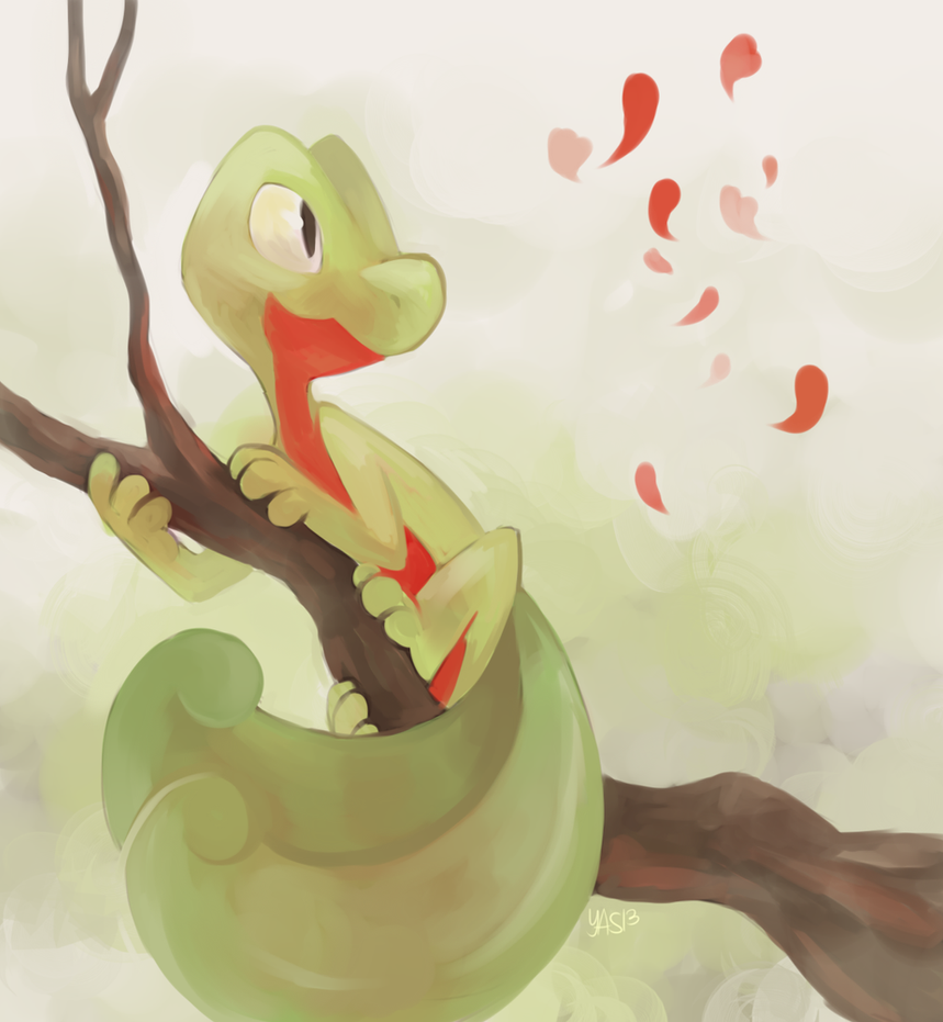 how to get treecko in pokemon moon