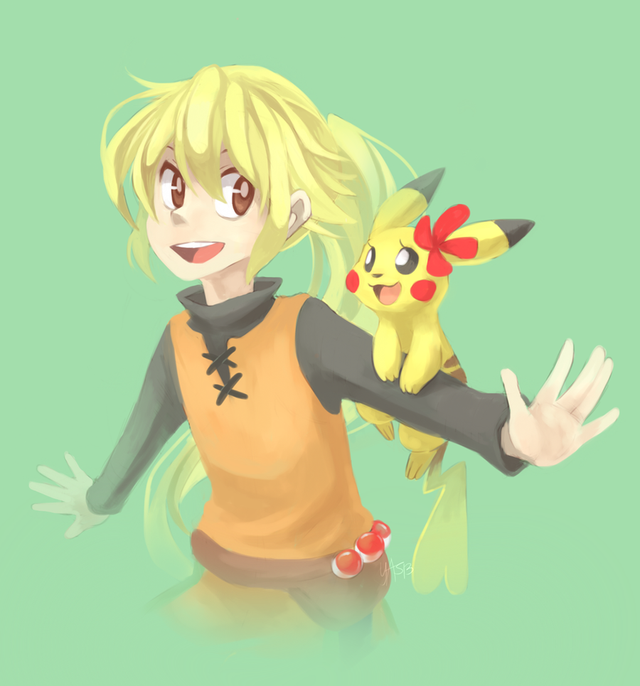 Yellow and Chuchu by yassui