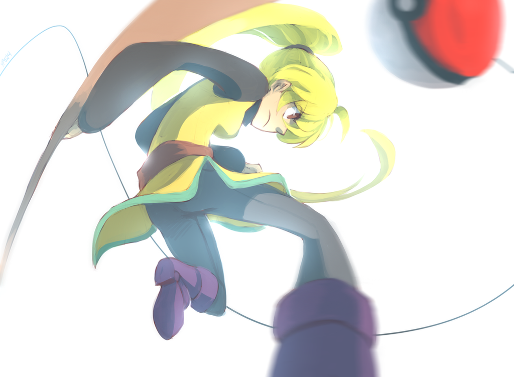 Trainer Yellow Challenges You! by yassui
