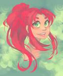 Redhead Princess