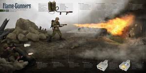 WW2 Flame-Gunners