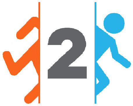 Double Portal 2 Logo