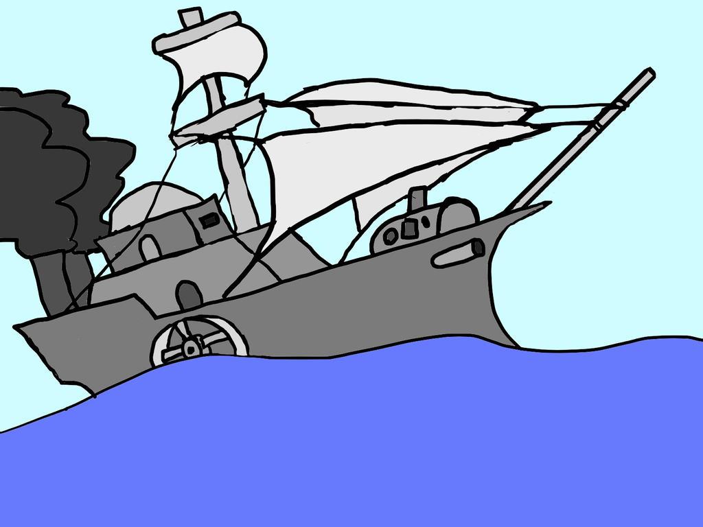 Steamship by inda26
