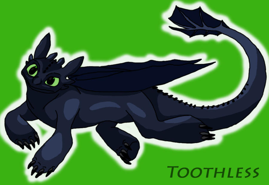 Toothless by AceKun16