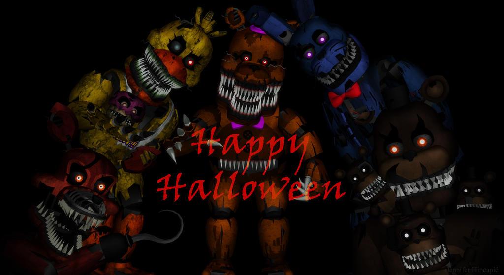 FNaF Happy Halloween by Jenny475 on DeviantArt