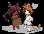 Commission: Kiroru and Akiro for Roxy
