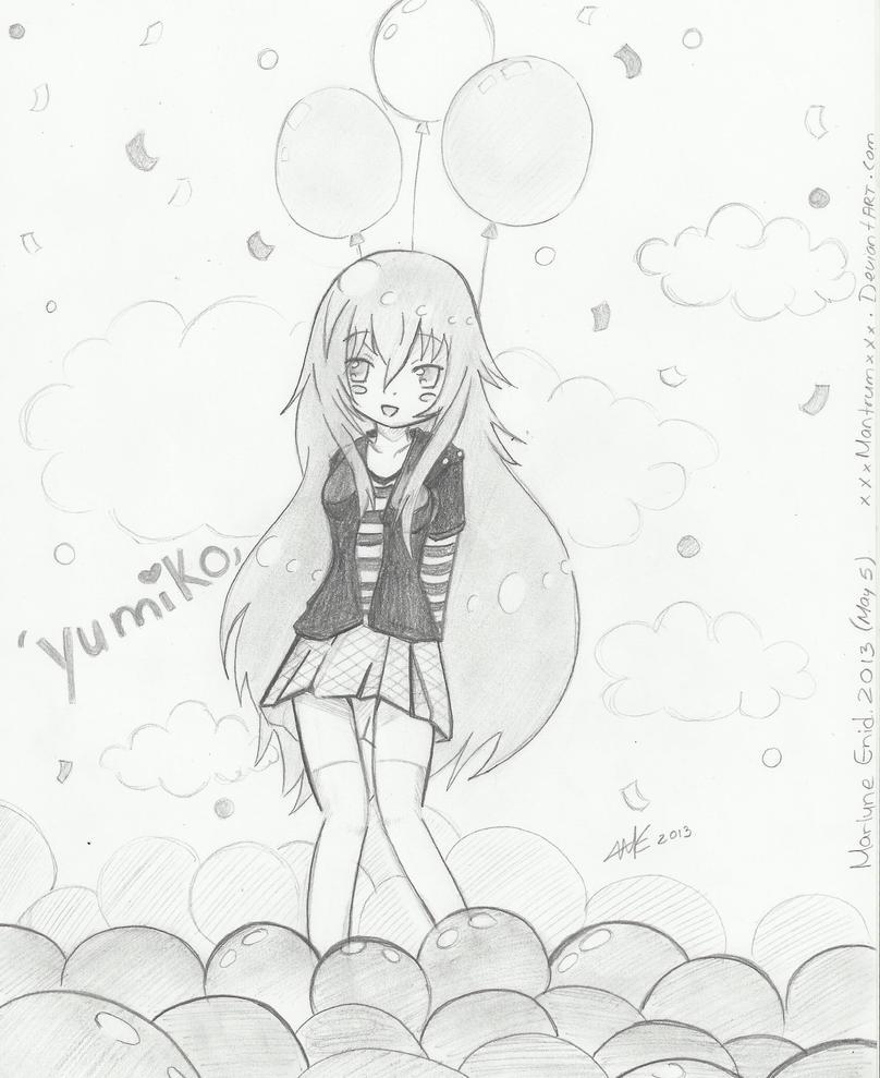 Happy Birthday Yumiko by xXxMantrumxXx