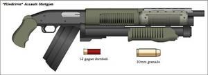 Evacian 'Piledriver' Assault Shotgun