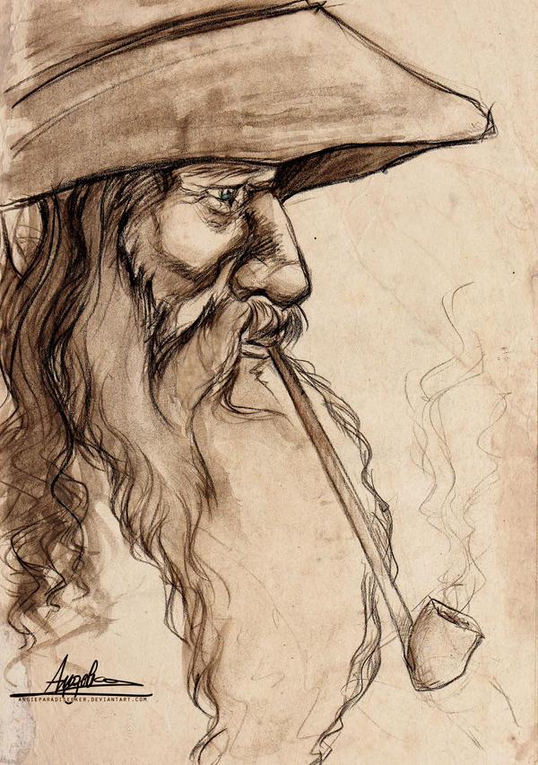 Gandalf the Grey by AngieParadiseeker