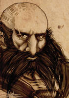 Dwalin son of Fundin by AngieParadiseeker