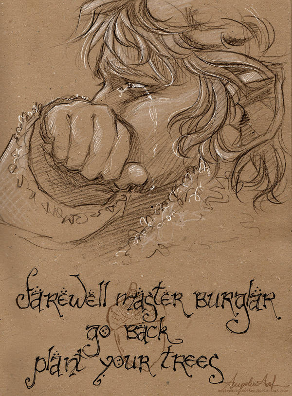 Farewell Master Burglar by AngieParadiseeker