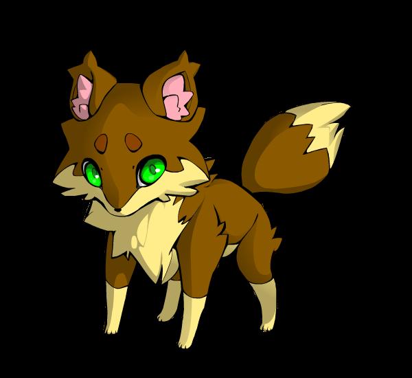 Twigpelt as a Fox! by adventurepirate
