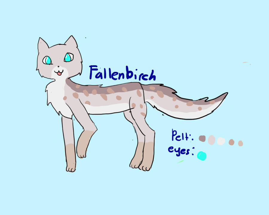 Fallenbirch's ref by adventurepirate