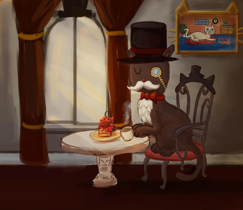 Fancy Cat by adventurepirate