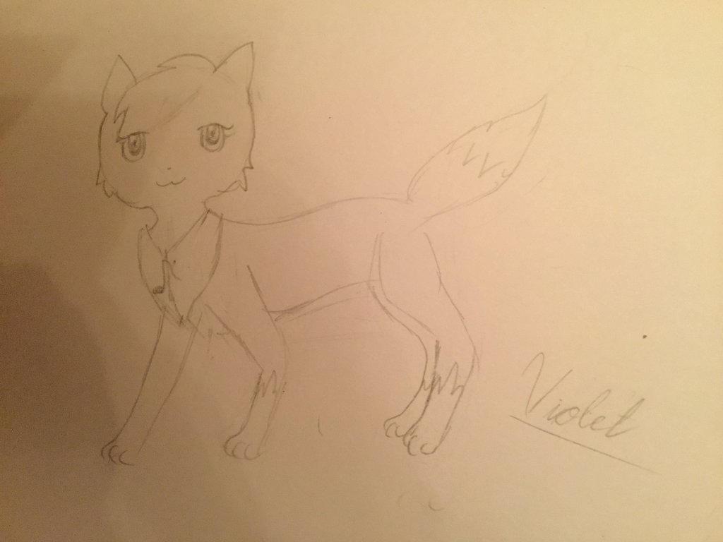 Violet by adventurepirate