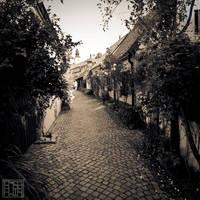 Alley of Fishermen 2 by Arai-Foto