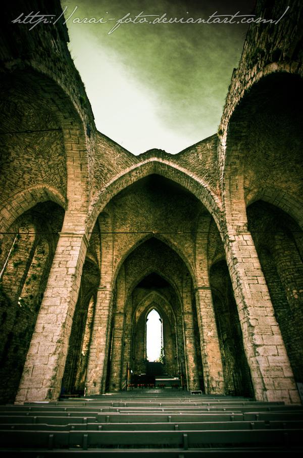 Mighty Ruins by Arai-Foto