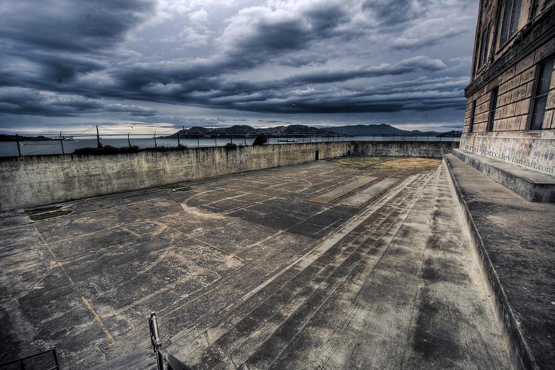 alcatraz prison yardarai-foto on deviantart
