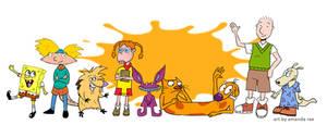 Nickelodeon by Dominoblox