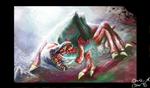 Metroid Queen Concept Art